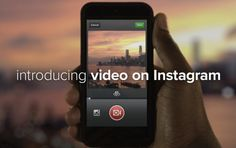 Instagram Launches 15-Second Video Sharing Feature, With 13 Filters And Editing  Read more here: http://tcrn.ch/14lcEu2