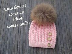 Bonnet homme torsades tricot / Beanie for man easy knit Crochet Beanie Hat, Beanie Hats, Knit Crochet, Crochet Hats, Tricot Baby, Knitting Patterns, Crochet Patterns, Knitting Hats, Crochet Baby Bonnet