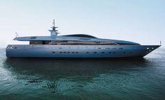44 Metre Baglietto superyacht Tatiana -- #yacht #yachts #boat #boats #motoryacht…