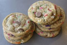 What Happens When a Chocolate Chip Cookie Meets Funfetti