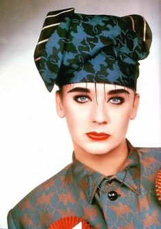 Boy George in Gaultier Solo Music, 11. September, Culture Club, Boy George, Rhythm And Blues, Many Faces, Pop Bands, New Wave, Reggae