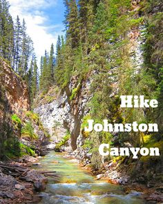 Things You Should Do In Alberta, Canada: Hike Johnston Canyon  #hike #canyon #banff #canada