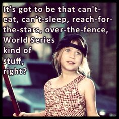Can't eat can't sleep World Series kinda stuff!