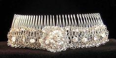 Beaded knitting: head bands