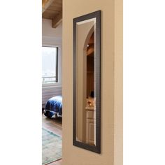 American Made Rayne Espresso Bricks 20 x 59-inch Slender Body Mirror | Overstock.com Shopping - The Best Deals on Mirrors
