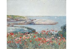 American Impressionist: Childe Hassam and the Isles of Shoals on view at the Peabody Essex Museum