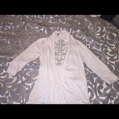 Beige Cardigan Beige Cardigan with detailed back Sweaters Cardigans
