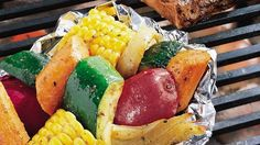 Grilled Vegetable Medley Packets Recipe (1) From: Pillsbury (2) Webpage has a convenient Pin It Button
