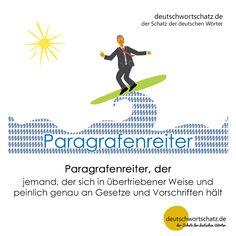 Paragrafenreiter - deutschwortschatz.de / der Schatz der deutschen Wörter