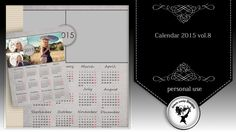Calendar 2015 vol.8 by Black Lady Designs