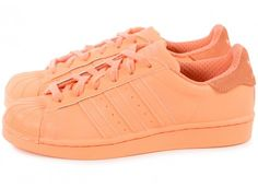 Chaussures adidas Superstar Adicolor Sun Glow W #adidas #glow #superstar
