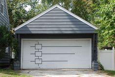 mid-century garage door