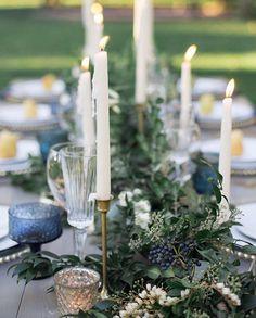 Dusty Blue Wedding decor More