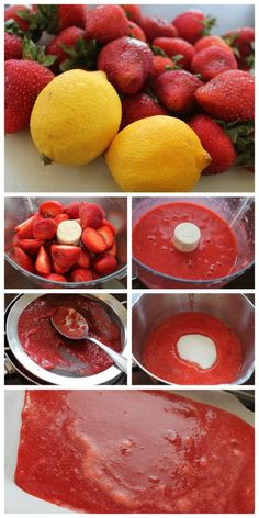 Fruit roll ups how to healthy snacks to make, healthy fruits, Healthy Snacks To Make, Healthy Fruits, Fruit Recipes, Baby Food Recipes, Fruit Leather Recipe, Roll Ups Recipes, Dehydrator Recipes, Yummy Food, Baking