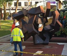 The Tumbler, a long-standing sculpture in downtown Springfield's Park Central Square, has recently been discovered to have had an unknown purpose for the last 42 years.