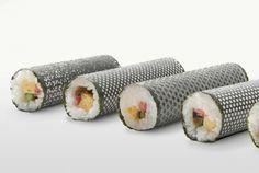 Lasercut Seaweed for Designer-Sushi