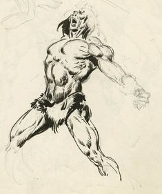 John Buscema Drawing