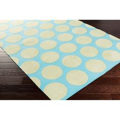 Meticulously Woven Whimsy Polka Dots Area Rug (5' x 8') | Overstock™ Shopping - Great Deals on 5x8 - 6x9 Rugs