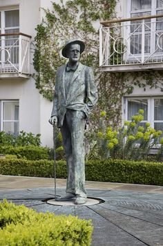 James Joyce in The Garden by The Merrion Hotel, Dublin, via Flickr