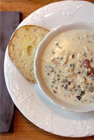 My Sweet Savannah: ~chicken bacon & wild rice soup~ can use fresh stock, gluten free flour to slim to make it fit 100 day of real food