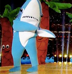 leftshark from katy perry's superbowl halftime show!!!!!!!!!! That little shark was so cute!!!