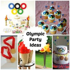 SEVERAL olympic party ideas!!