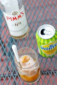 Peanut Butter & Dill Pickles: Pimm's Sorbet--Day 14: Ice Cream Marathon