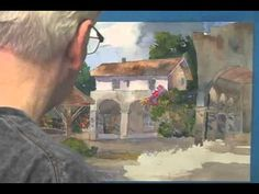 California Mission Watercolor Demo Part 5 of 5 - YouTube