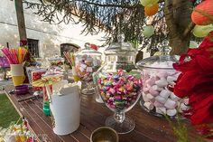Mariage Afrikasia   Candy bar par Candy Party. Huuuuuum un régale de couleurs et de saveurs !