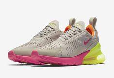 NIKE AIR MAX 270 Womens Desert Sand Volt Orange Pink AH6789-005 New Running  7-12 c4db03e1ba86a