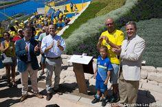 TIEMPO DE DEPORTE: Homenaje a la afición amarilla en el estadio Insul...