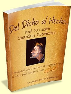An easy and fun way to catapult your Spanish to new heights while you savor the language...