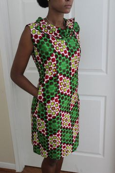 African Print Dress by ifenkili on Etsy