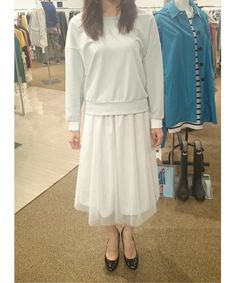 【Dignite Collier】リバーシブルストライプスカート #シータ・ミュー