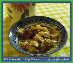 Pressure Cooker - Italian Wedding Soup in 6 minutes!  My own take on the recipe.