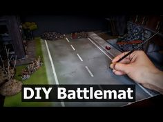 (815) Make Your Own Battlemats - Easy DIY Battlemats for Wargaming Terrain and Tabletop Games - YouTube 40k Terrain, Wargaming Terrain, Make Your Own, Make It Yourself, Tabletop Games, Easy Diy, Projects, Youtube, Log Projects