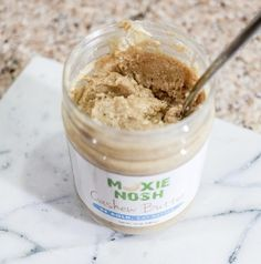 No judgement, double-dip your life away. Cashew Butter, Peanut Butter, Your Life, Dips, Healthy, Food, Sauces, Meals, Dip