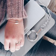 Pink days by Johanneappel #jewellery #silver #jewelry #fashion #outfit #sweater #bag #bracelet #ring #chloe #outfit #Johanneappel #Hvisk #hviskstylist #nakd