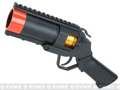 Matrix Full Metal Tactical Grenade Launcher Airsoft Pistol