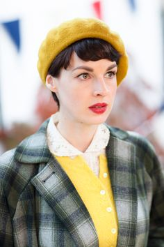 Prudence (Tuppence) Beresford - Jessica Raine in Agatha Christie's Partners in…