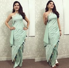 Fashion Hub, Indian Fashion, Indian Outfits, Indian Clothes, Western Dresses, Saree Styles, Indian Designer Wear, Beautiful Indian Actress, Indian Wear