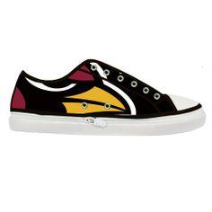 Custom NFL Arizona Cardinals Canvas Shoes Women by LoveBeadsWorld, $35.99