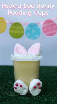 Easter peek-a-boo bu