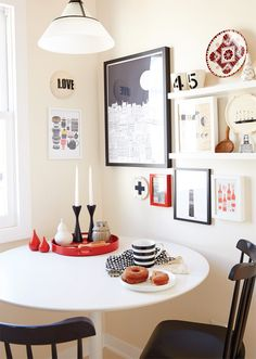 Home of artist Lisa Congdon in Anthology Magazine | Photo by Thayer Gowdy