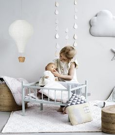 Hot Air Balloon kids Light Shade - Cam Cam Copenhagen