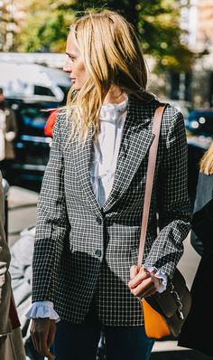 This Style Trick Makes Your Jackets Look Cooler via @WhoWhatWear