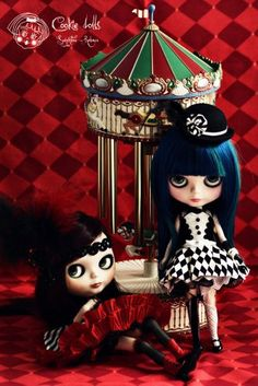 Mademoiselle Ruby and Bambu, My girl cabaret.