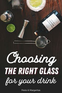 Which Glass Goes with Which Drink? Choosing the Perfect Glass Triple Sec Cocktails, Bourbon Cocktails, Classic Cocktails, Wine And Liquor, Wine Drinks, Alcoholic Drinks, Beverages, Easy Drink Recipes, Cocktail Recipes