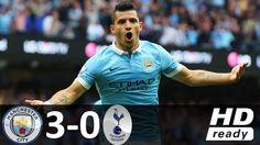 Man City vs Tottenham | 3-0 | Extended Highlights | 29/07/2017