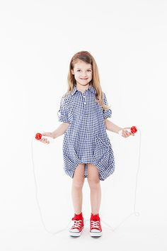 COOL bubble dress for girls- FREE sewing pattern